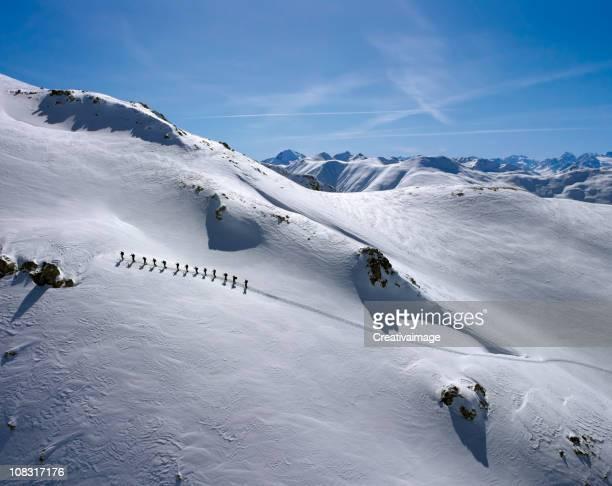 I love パウダースノーでのスキー