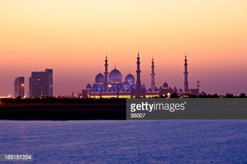 A beautiful view of an Arabian sunset