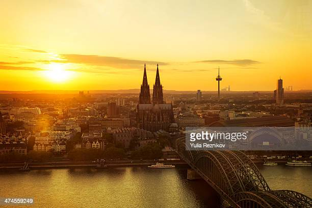 Beautiful  view of Cologne cathedral