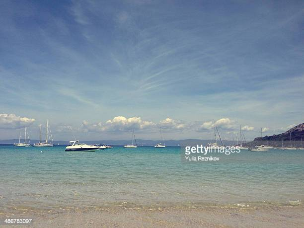 Beautiful view of Island Porquerolles