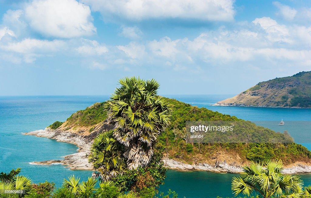 Beautiful view of Phuket island : Stock Photo