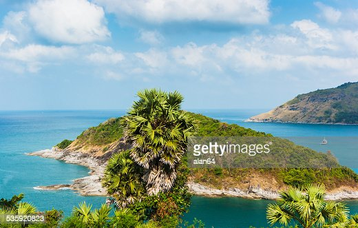 Beautiful view of Phuket island : Stock Photo