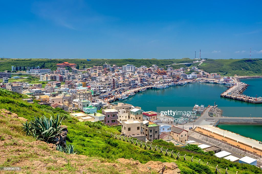 Beautiful view of port Penghu