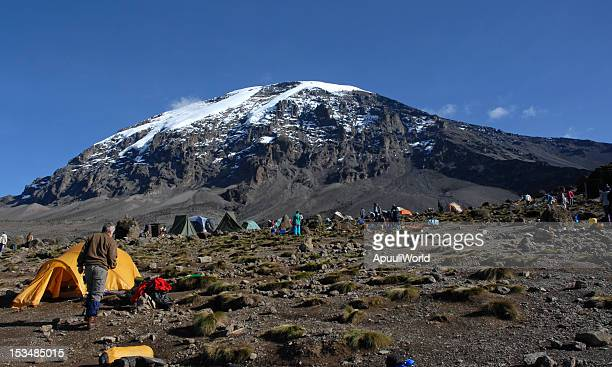 Beautiful view of the Kilimanjaro with snow on top