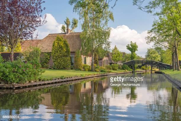 Beautiful village of Giethoorn, Netherlands