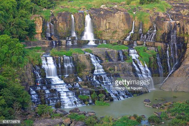 Beautiful waterfall in central highland, Vienam