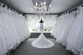 Wedding Dress, Store, Dress, Textile, Prom Dress