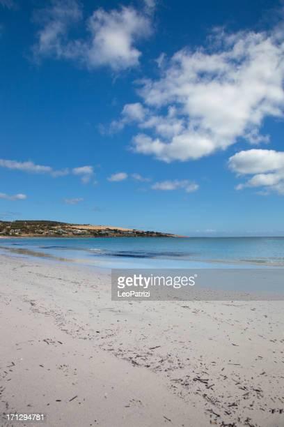 Beautiful white sand bay