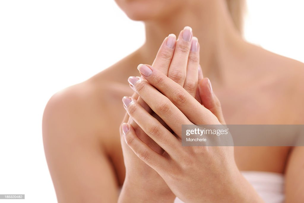 Beautiful woman hands : Stock Photo