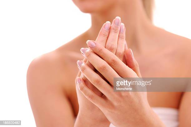 Beautiful woman hands