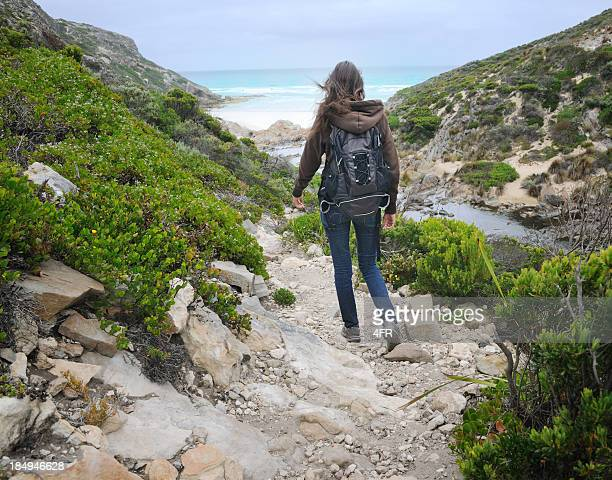 Beautiful woman hiking, Australia (XXXL)