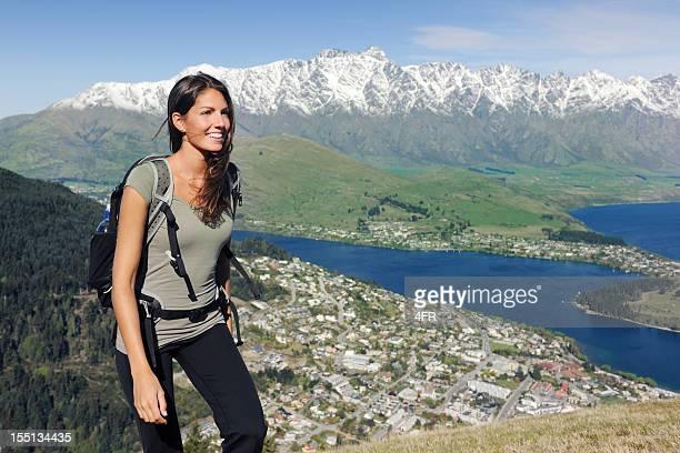 Belle femme hiking (XXXL