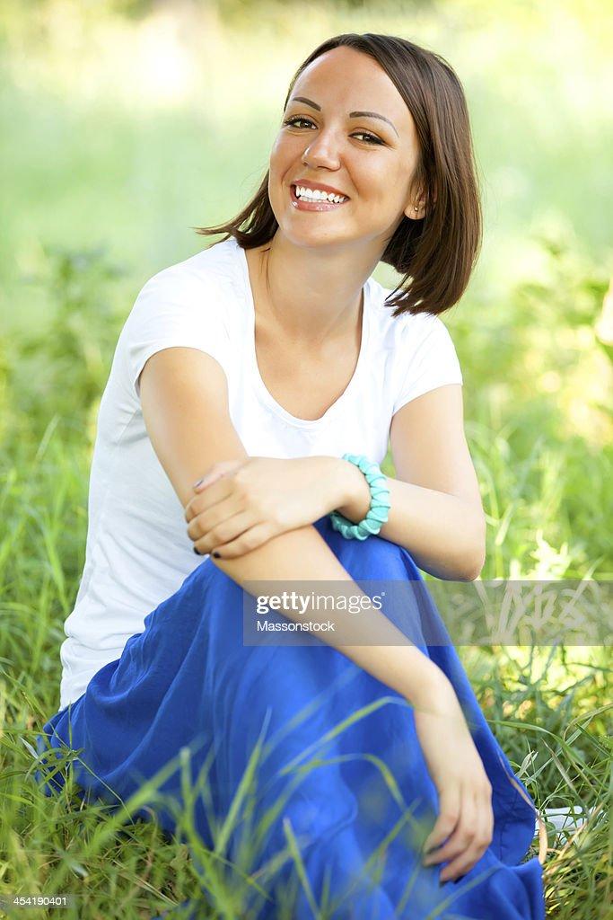 Schöne Frau : Stock-Foto