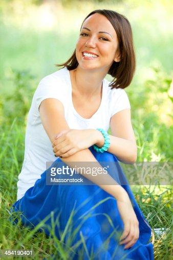 Mulher bonita : Foto de stock