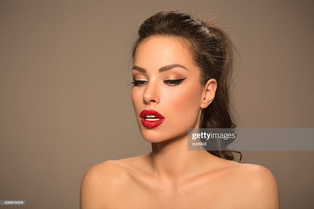 Beautiful woman. : Stock Photo