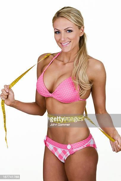 Beautiful woman wearing a bikini