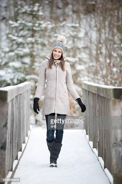 Beautiful Woman, Winter Fashion