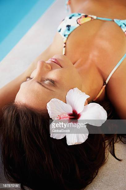 Sleeping Women Bikini Stock Photos and Pictures | Getty Images