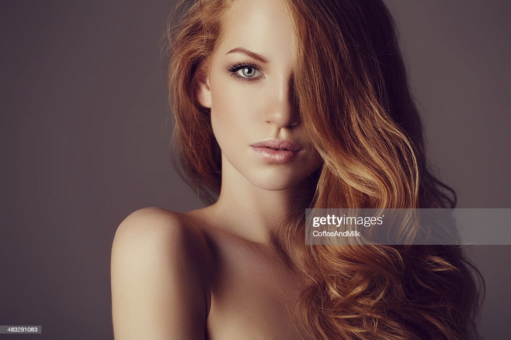 Beautiful woman with luxury hairs