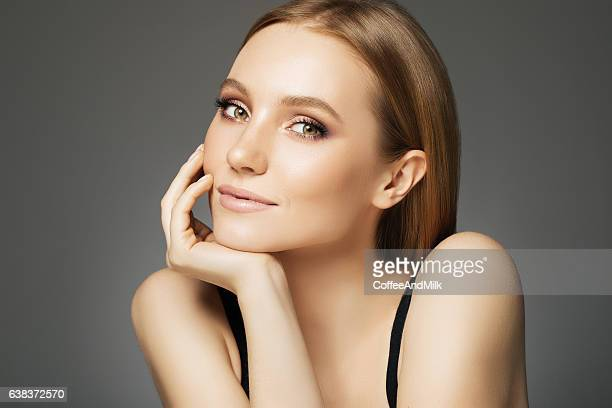 Beautiful woman with make-up