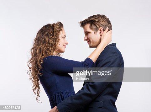 Beautiful young couple : Stock Photo