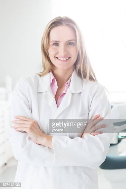 Beautiful & young medical expert