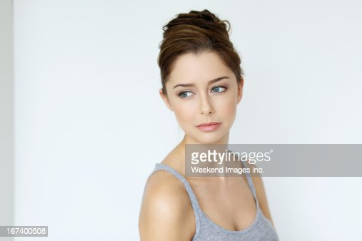 Beautiful young woman : Stockfoto