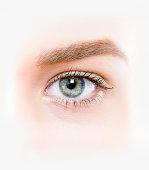 beautifull eye close-up