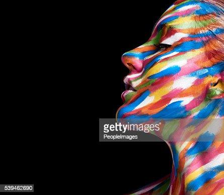 Beautifully coloured