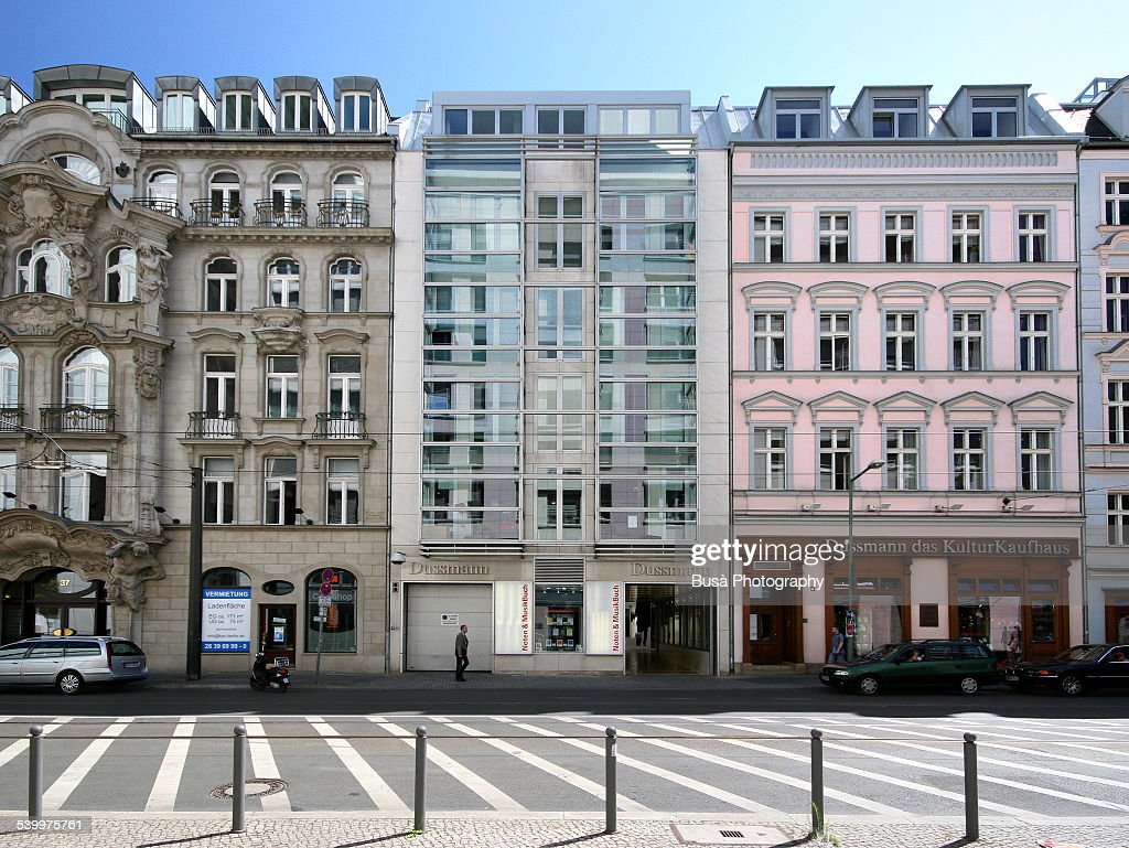 Beautifully renovated buildings in Berlin Mitte