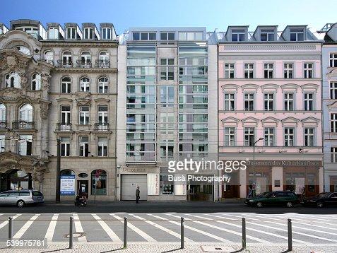 Beautifully renovated buildings in Berlin Mitte