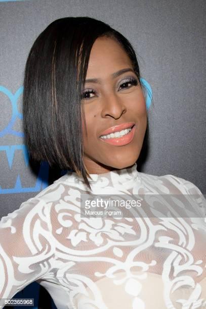 Beautii J attends 'Bossip On WE' Atlanta launch celebration at Elevate at W Atlanta Midtown on June 27 2017 in Atlanta Georgia