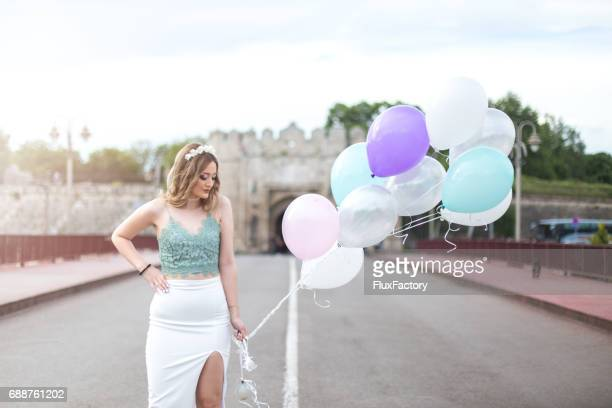 Beauty and balloons