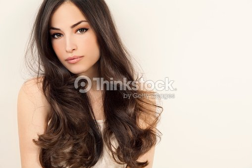 beauty and hairstyle : Stock Photo