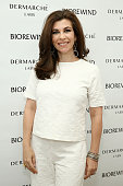 Beauty and Lifestyle Expert Luciene Salomone attends the Dermarche Labs Launch of New AM PM Beauty Serum BioREWIND At 24th Street Loft on June 23...