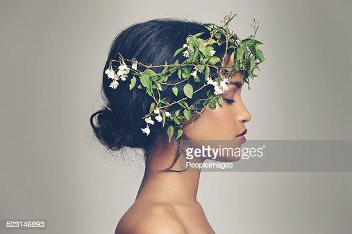La belleza y la naturaleza combinan