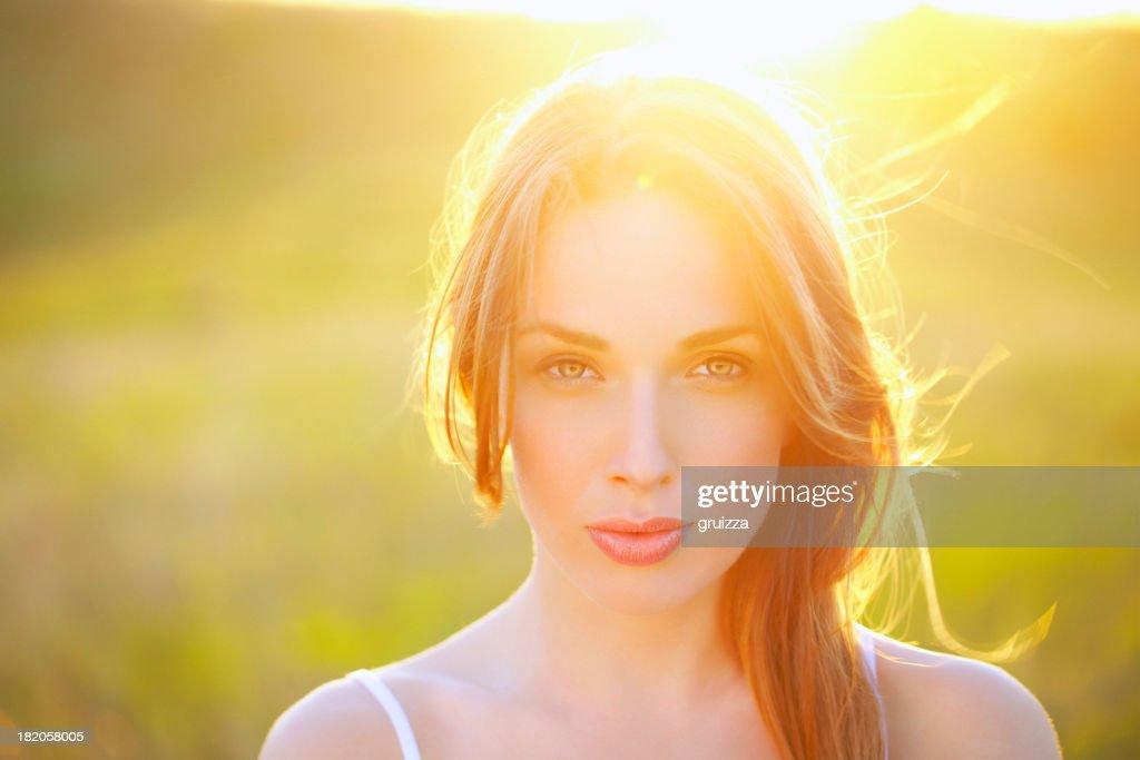 Beauty at sunset
