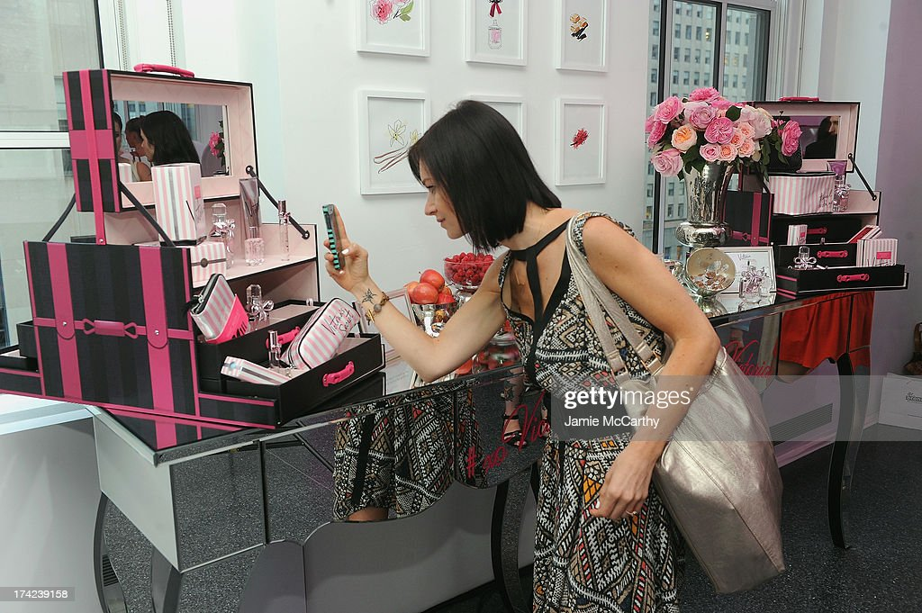 Beauty Editor Jeannine Morris attends the Victoria by Victoria's Secret Fragrance launch event at 620 Loft & Garden on July 18, 2013 in New York City.