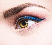 Beauty eye close up eyeliner