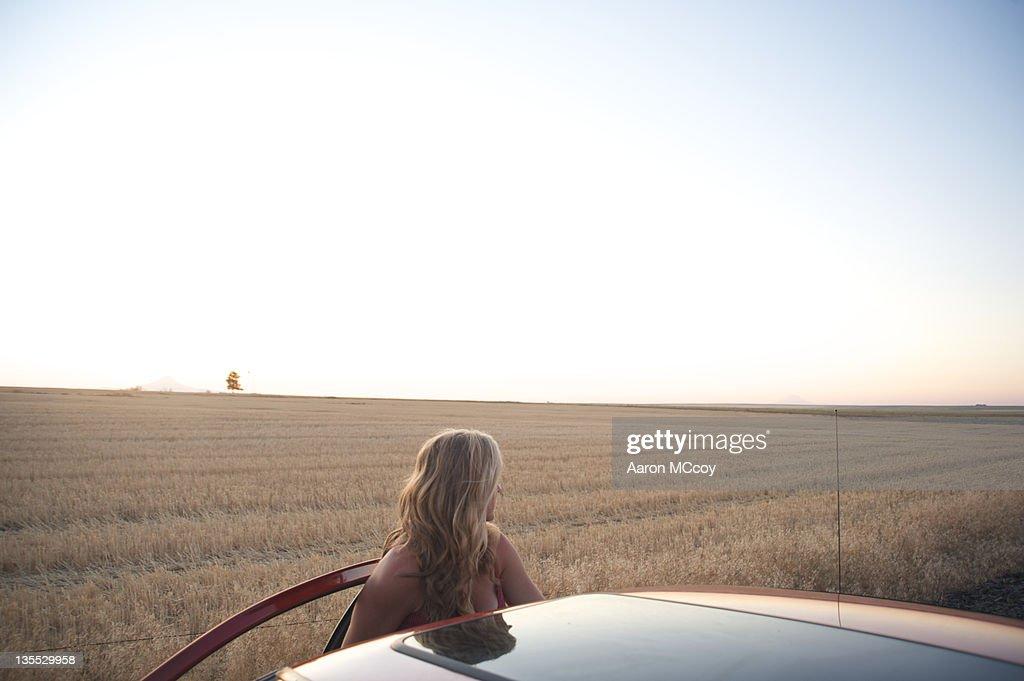 Beauty in farmland : Stock Photo