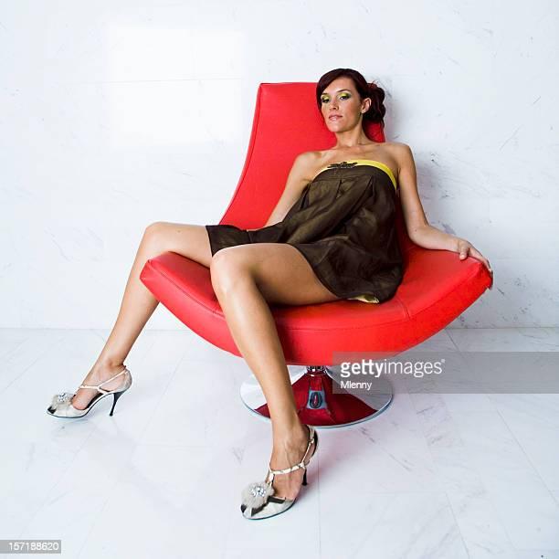 Beautiful Women Wearing Mini Skirts Stock Photos And