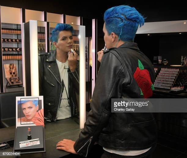 Beauty Influencer Gabriel Zamora attends MAC Cosmetics Appearance with Beauty Influencers Laura Lee Gabriel Zamora at MAC The Grove at The Grove on...