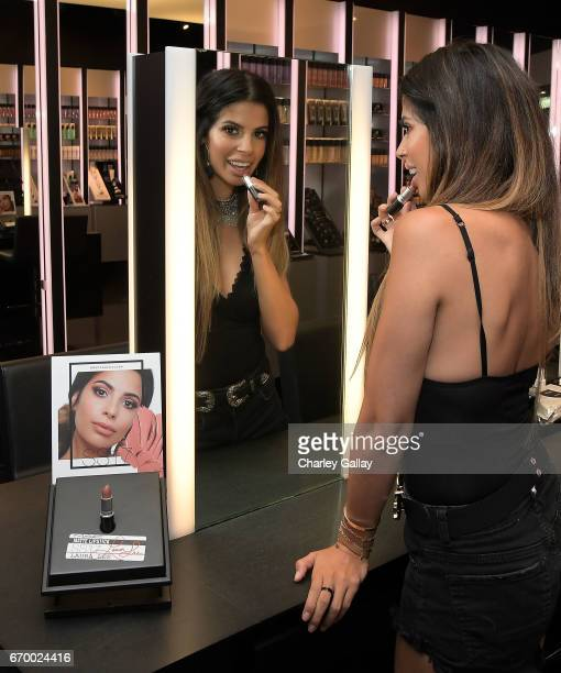 Beauty Influencer Laura Lee attends MAC Cosmetics Appearance with Beauty Influencers Laura Lee Gabriel Zamora at MAC The Grove at The Grove on April...