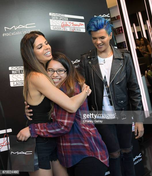 Beauty Influencers Laura Lee and Gabriel Zamora greet fans at MAC Cosmetics Appearance with Beauty Influencers Laura Lee Gabriel Zamora at MAC The...