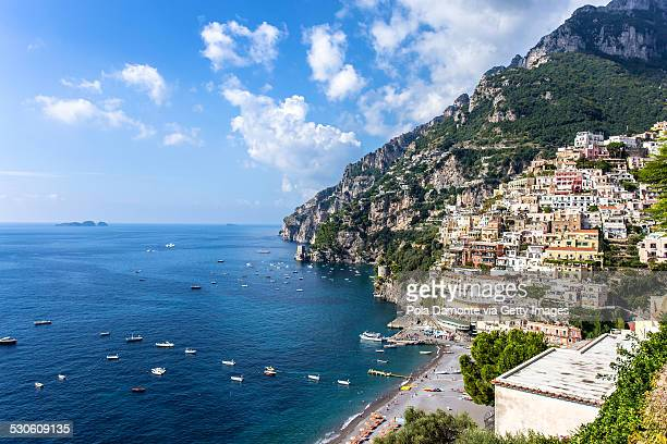 Beauty of Positano, Amalfi Coast, Italy