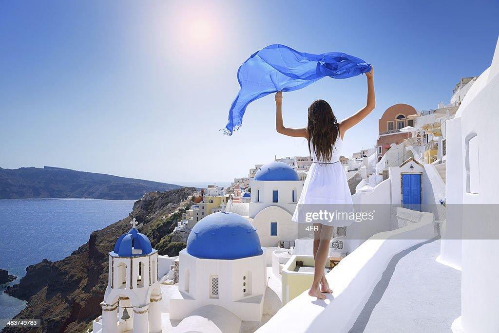 Beauté de Santorin : Photo