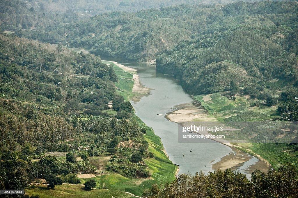 Beauty of Shangu River : Stock Photo