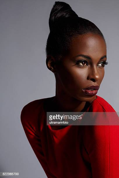 Beauty portrait  Beautiful african ethnicity  young women