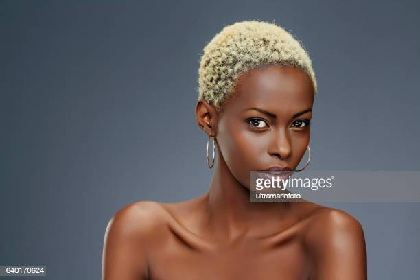 Beauty portrait  Fashion  Beautiful african ethnicity  young women