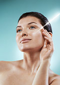 Laser in the beauty salon. Skin Care Concept